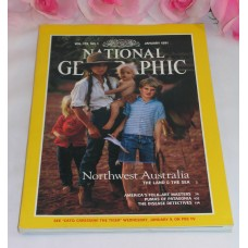National Geographic Magazine January 1991 Volume179 No.1 Australia Folk Art Puma