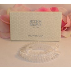 Molton Brown London Shower Cap Lightweight Disposable for Travel or Home Use