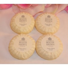 Molton Brown 4 Bars Of Tripple-Milled Soap .88 oz / 25g Each 3.52 Oz Total
