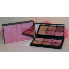 NARS Narsissist # 8337 Cheek Palette Unfiltered II Powder Blush 6 Shades