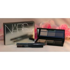 Nars Narsissist Hard Wired Eye Kit #8309 6 Eye Shadows Liner Brush Smoky Eye