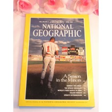 National Geographic Magazine April 1991 Volume 179 No.4 MLB MInors Ramses Sphinx