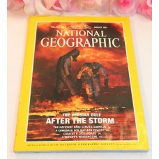 National Geographic Magazine August 1991 Volume 180 No.2 Persian Gulf Cuba Parks
