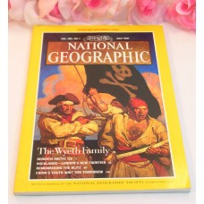 National Geographic Magazine July 1991 Volume 180 No.1 Wyeth Family Artic Ice