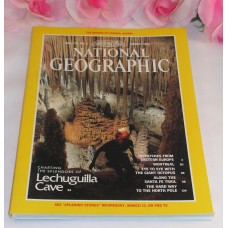 National Geographic Magazine March 1991 Volume179 No.3 Lechuguilla Cave Montreal