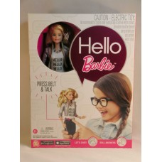 Toy Mattel NEW Interactive Talking Hello Barbie Doll Blonde In Stock Ships Next Day