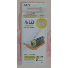 LD Printer Ink Black LD-CL1221B For Canon Pixma Printers / Chip Sealed iP3600+