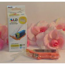 LD Printer Ink Cyan LD-CL1221C For Canon Pixma Printers / Chip Sealed iP3600+