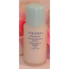 Shiseido Pureness Matifying  Moisturizer Oil Free 1 oz / 30 ml Size Bottle