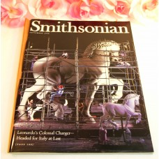 Smithsonian Magazine September 1998 Ice Station Zebra Delacroix da Vinci Horse