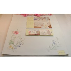 "Lenox Artist's Sketchbook Floral Place Mats Set of 8 Rectangle 19"" x 13"""