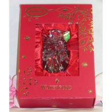 Waterford Lead Crystal 2016 Annual Angel Christmas Tree Ornament & Enhancer