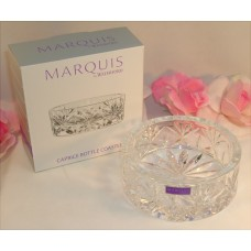 Waterford Marquis Lead Crystal Caprice Wine Bottle Coaster Shallow Bowl